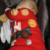 The Cookie Walk is over with visions of sugar cookies dancing in his head. See you next year!